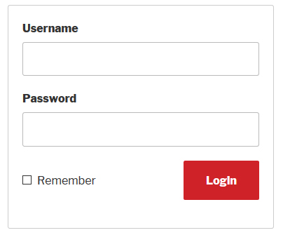 AJAX WordPress Login Form